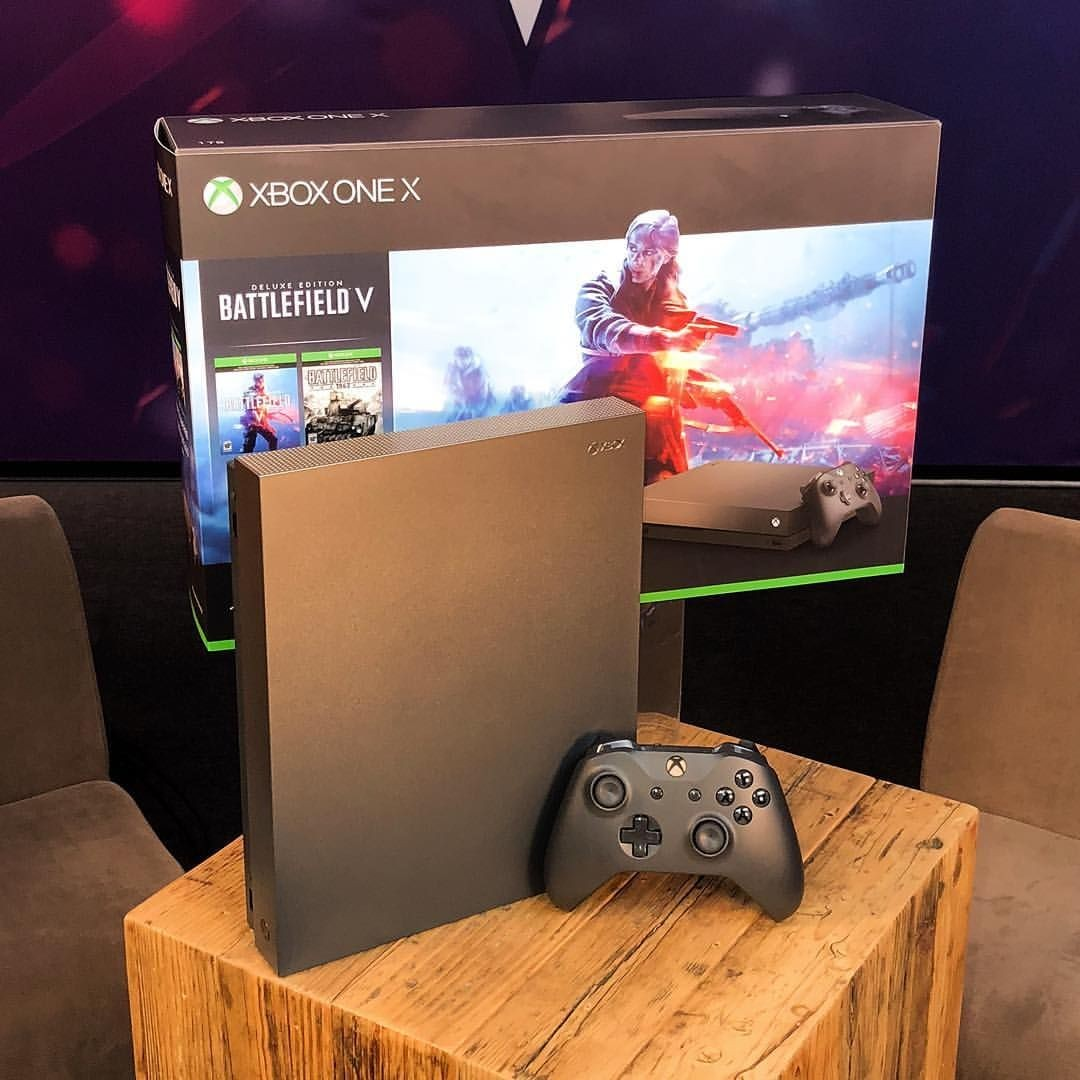 xbox one x 1tb console – gold rush special edition