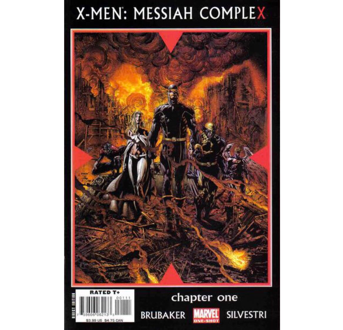 X-MEN MESSIAH COMPLEX #1 (2007) 1st issue!