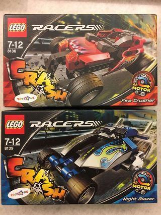 Lego Racer sets 8139 and 8136