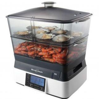 正品智能LCD多功能雙發熱電蒸籠( 原價$730) Smartech - Smart LCD Food Steamer
