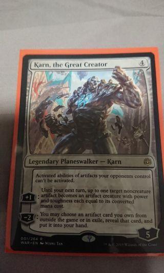 Karn, the Great Creator (WAR)