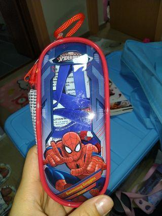 蜘蛛俠 兒童泳鏡 全新