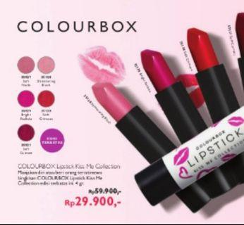 Lipstick Colorbox Kiss Me Collection (Oriflame)