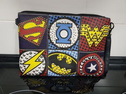 Marvel DC Funky Clutch Bag