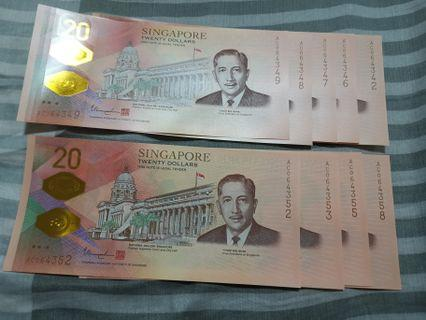 🚚 Singapore $20 Bicentennial