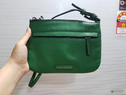 Brand New Ori Armani Exchange Sling Bag