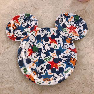 全新# 日本迪士尼帶回米奇造型盤子