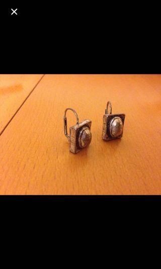 減價Silver earrings