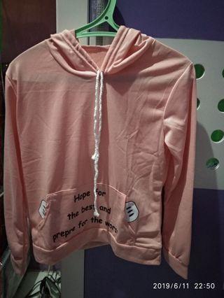 Jaket Pink kaos