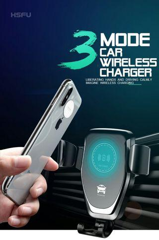 10w car wireless charger gravity sensor bracket
