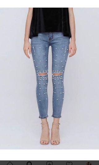 Ripped Jeans Hellolilo x Mmehuillet