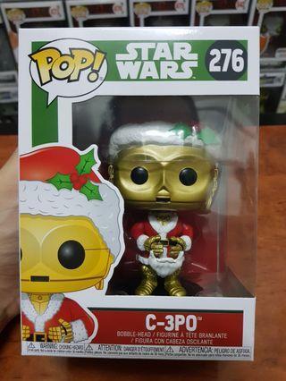 Funko Pop Star Wars Santa C-3PO