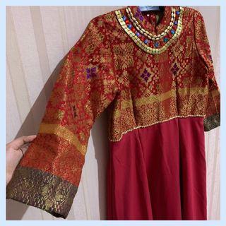 Dress Songket Palembang