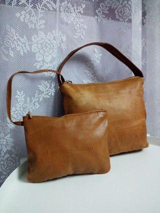 Les Sacs Adam small leather bag..
