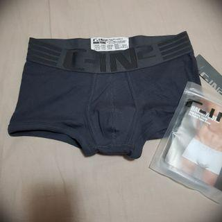 🚚 正貨 C-IN2 鐵灰色運動四角內褲 size M