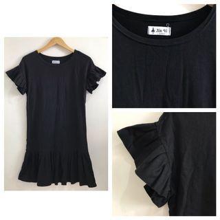 T-shirt Black Dress