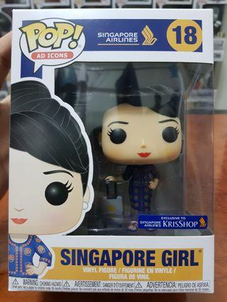 Funko Pop Ad Icon Singapore Airlines Singapore Girl