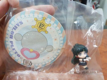 Sailor Pluto & Sailor Saturn - MegaHouse Ochatomo Sailor Moon Series Tea Friend Figure and Coaster
