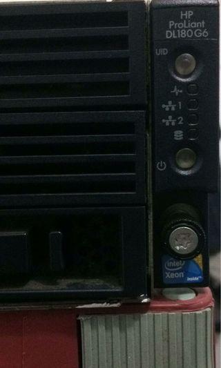 Server Hp proliant dl180 g6