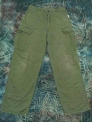 Vintage Gung Ho cargo army pant usa