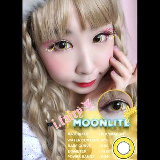 🆕 I.Fairy Moonlite Yellow colour contact lenses