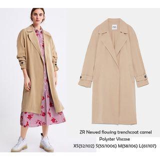 Zara Flowy coat