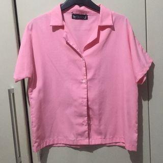Ark and fox baby pink Top