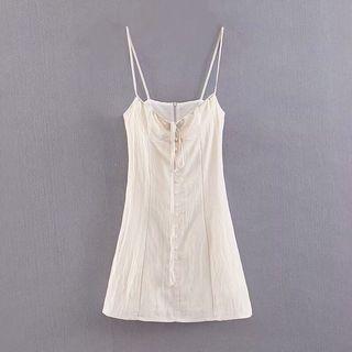 歐美吊帶連身裙