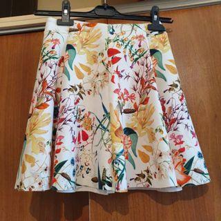 Bershka A-line Floral Dress - Size S, EU 34