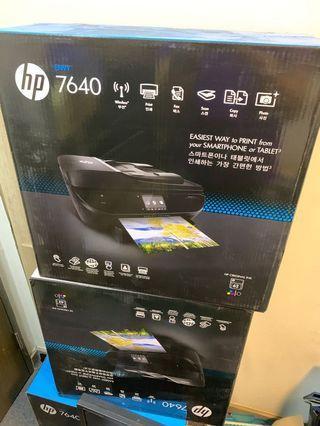 HP Envy 7640 打印機