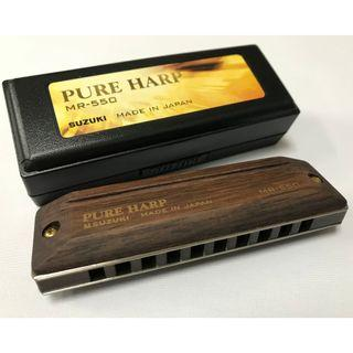 Suzuki Harmonica (Pure Harp MR-550, C Major Key)
