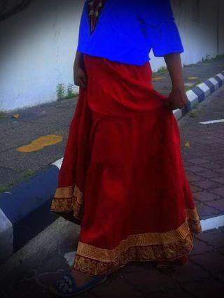 Indian tribal skirt