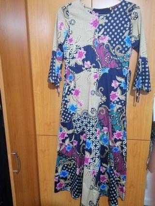 Long Batik Dress