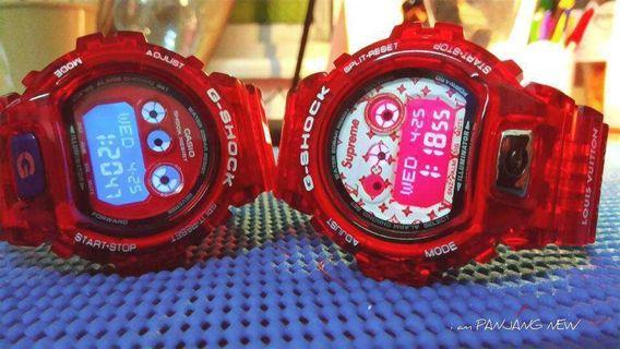 G-Shock GDX 6900 With Red Jelly Supreme BNB Original Set