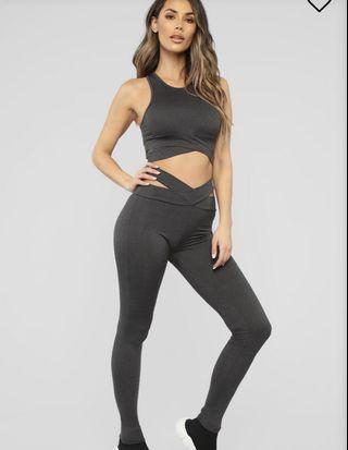 Grey Lounge Set Size S Fashion Nova