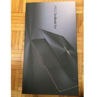 Brand New Asus ZenBook Pro UX550G notebook i7 videoram touch