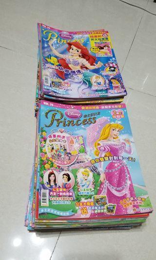 迪士尼公主princess雜誌