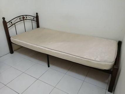 Single Bed Frame & Single Mattress