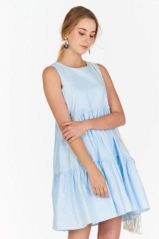 🚚 TCL LERENE DRESS IN POWDER BLUE
