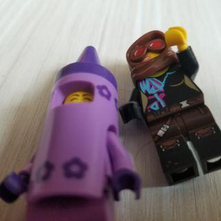 The Lego movie 2 Lucy and crayon girl
