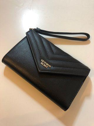 Victoria's Secret Wristlet Wallet Black