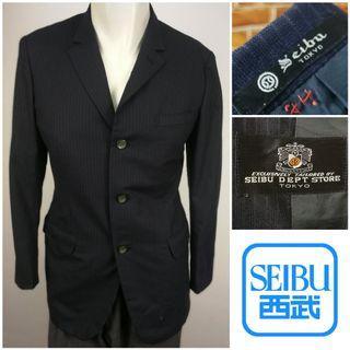 SEIBU DEPARTMENT STORE Single Breasted Blazer