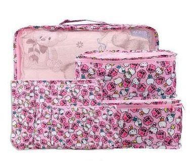 外貿原單卡通旅行收納袋(6件套) 衣物收納袋 多款選擇