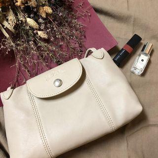 🚚 Longchamp 小羊皮側背包