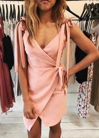 Bec & bridge wrap dress