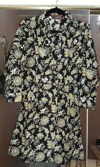 Midi Dress Batik Halus Pangestu