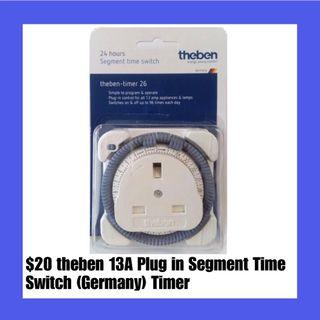 $20 theben 13A Plug in Segment Time Switch (Germany) Timer