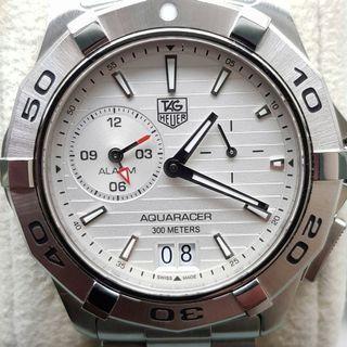 Tag Heuer Aquaracer Quartz WAP111Y Grande Date w alarm