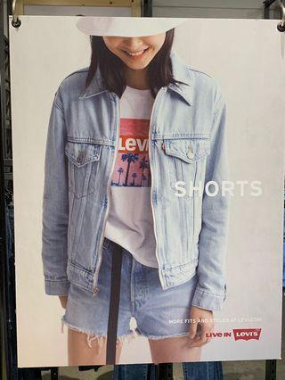 🚚 LEVI'S  最新款拉鍊 極稀有 明星牛仔外套 美國購入正品🇺🇸僅此一件
