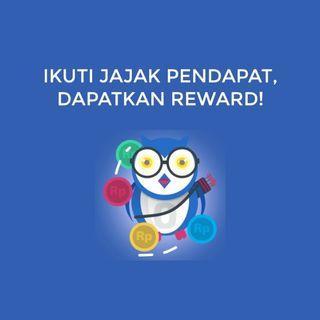 Reward: Cash dan Pulsa Gratis